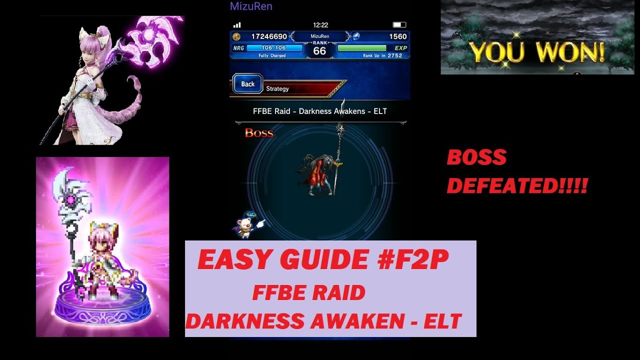 Download Ffbe Darkness Apocalypse Raid Elt Level One Turn