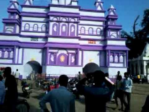 Durga puja pandal in motihari youtube durga puja pandal in motihari altavistaventures Image collections