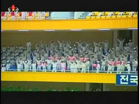 Kim Jong Un visits National Sports Contest