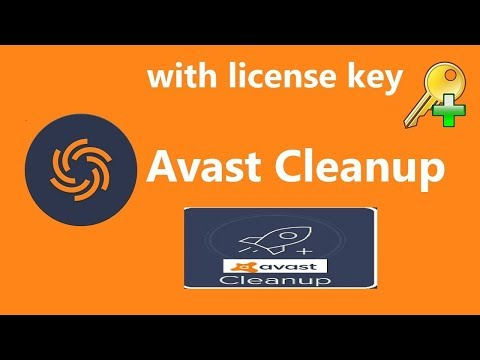 avast cleanup license key 2016