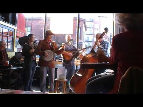 Hot Bluegrass Live Coffee at Bagel Art Cafe Evanston IL 2-12-17
