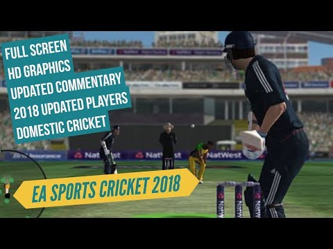 EA Sports Cricket 2018 Free Download Link Full Version For PC