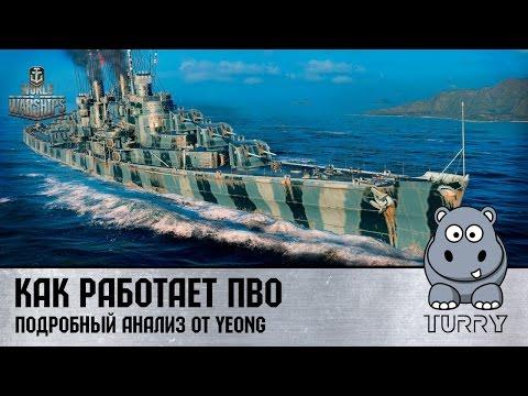 Управление и стрельба World of Warships