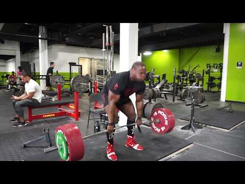 750 x 5 (340 Kg) Deadlift All Sets | Road To 2200 Pound Total Part 8