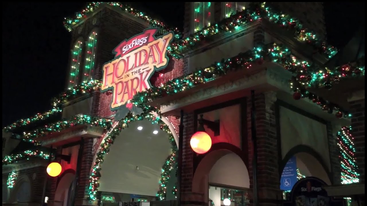 Holiday In The Park at Six Flags Over Georgia Christmas Event ...