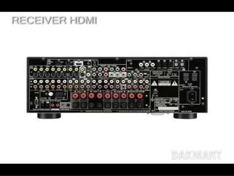 Denon Avr 2808ci 2808 7 1 Receiver Hdmi 1 3a 1080p