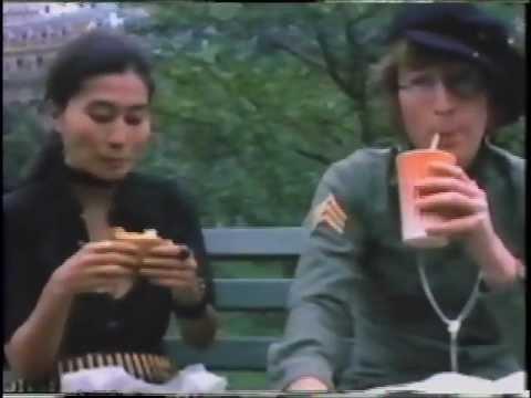John Lennon ORIGINAL 'Imagine' Film 1972 (Part 3)