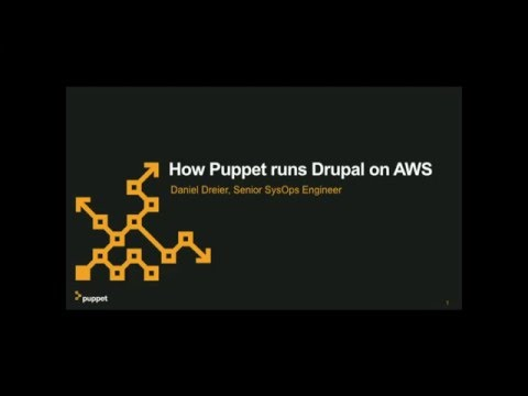 How Puppet Labs runs Drupal on AWS