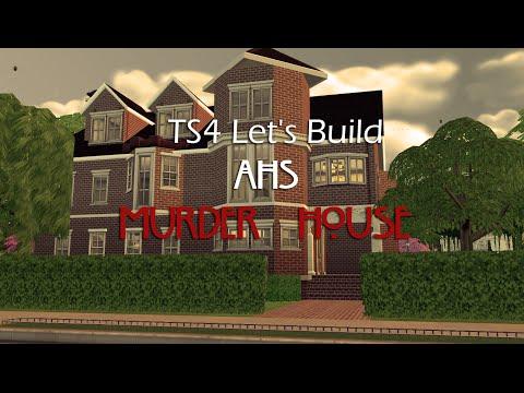 TS4 Let's Build AHS Murder House - Part 2 -