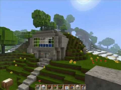 Let 39 s show minecraft 001 modernes haus german by for Minecraft modernes haus deutsch