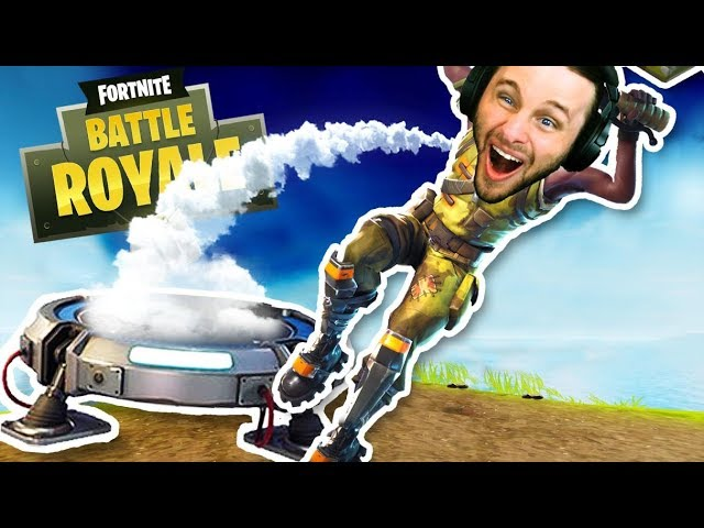 SICK LAUNCHPAD KILLS!! Fortnite Battle Royale (NEW LAUNCHPAD Update!)