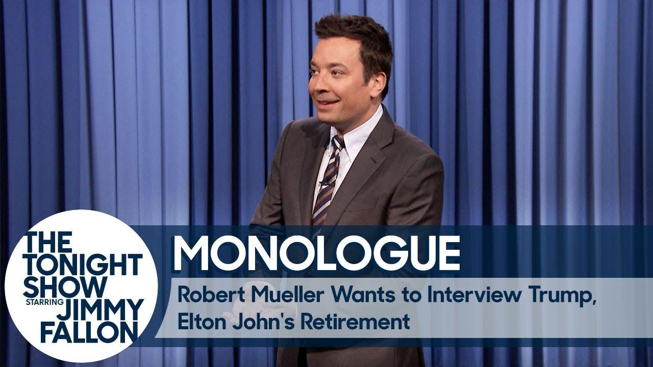 Robert Mueller Wants to Interview Trump, Elton John's ...