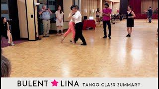 Milonga Class | Bulent & Lina Argentine Tango Lesson Summary | Toronto Tango Classes
