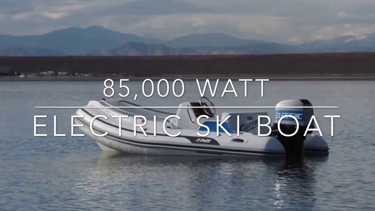 Worlds Fastest Electric Ski Boat Highlights