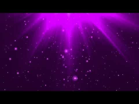 Purple Glaorious Heaven Background Video Loop HD