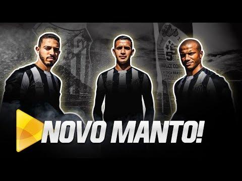 CONHEÇA O NOVO MANTO LISTRADO DO SANTOS FC!