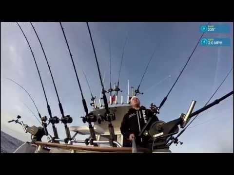 Fishing after Salmon by Eastside Trolling 14 dec