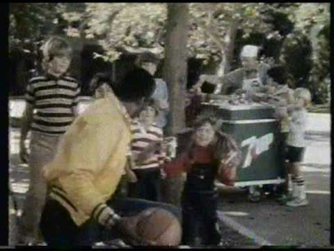 '7 Up'  [01] TV ad featuring Magic Johnson - 1981