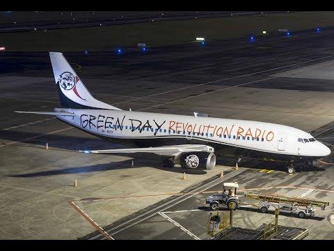 Maleth Aero 9H-MTF, Green Day em Curitiba - 4k- Aeroporto Internacional Afonso Pena