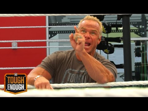 Cameras catch Billy Gunn dressing down ZZ: WWE Tough Enough Digital Extra, July 30, 2015