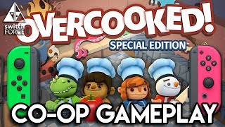 FUNNIEST Switch Gameplay - Overcooked Special Edition (Festive Seasoning) - Co-op