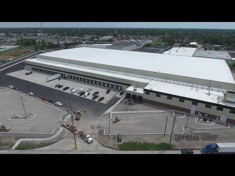 Lipari Foods Aerial Construction Video - designed & built by Tippmann Group