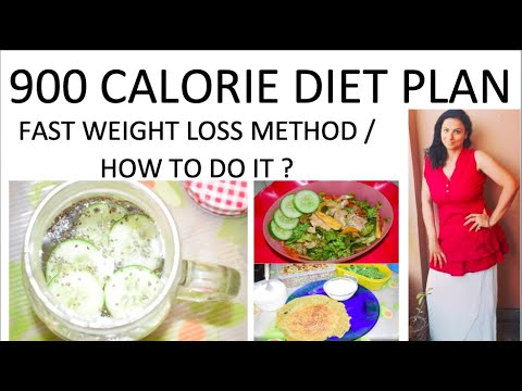 900 CALORIE DIET PLAN / HOW TO LOOSE WEIGHT FAST? / how to loose weight fast  in 10 days ?