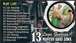 13 Lagu Gending Manten Adat Jawa Full Album  Vol 1