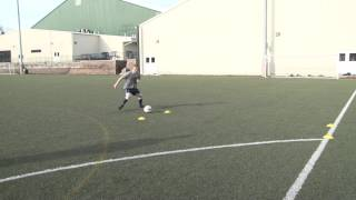 Training with Villanova Soccer: Week 5
