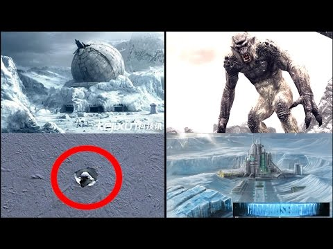 HUGE Discovery! Massive Antarctic Cave Troll Or UFO Alien Base Google Earth? Scientist SHOCKED! 2016
