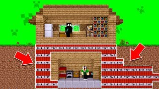 Minecraft REVERSO : COMO FAZER UMA ARMADILHA TROLL !!