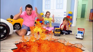 The Floor is Lava the most popular series for children with Sofia