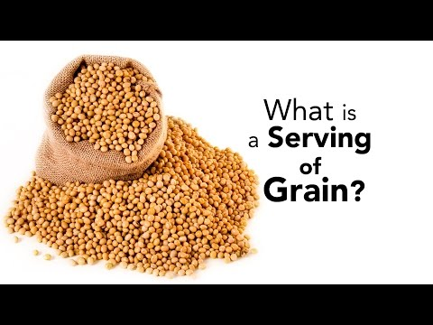 What is a Serving of Grain?