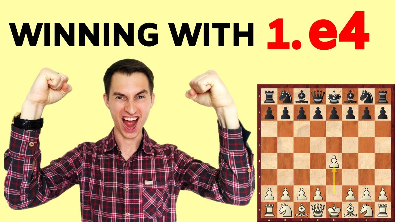 Download The Secrets of Winning with 1.e4 (Opening strategy explained)