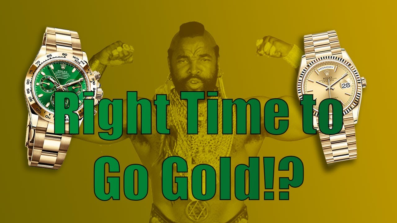 Should You Invest in Gold Watches? - YouTube