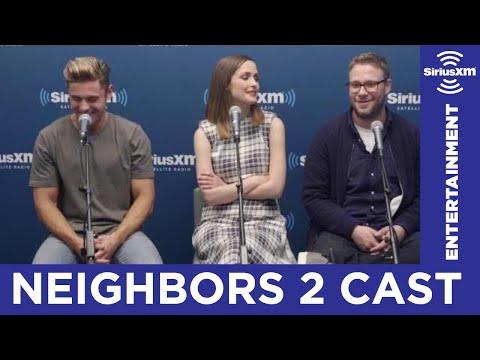 Seth Rogen Hates His Neighbor // SiriusXM // Entertainment Weekly Radio