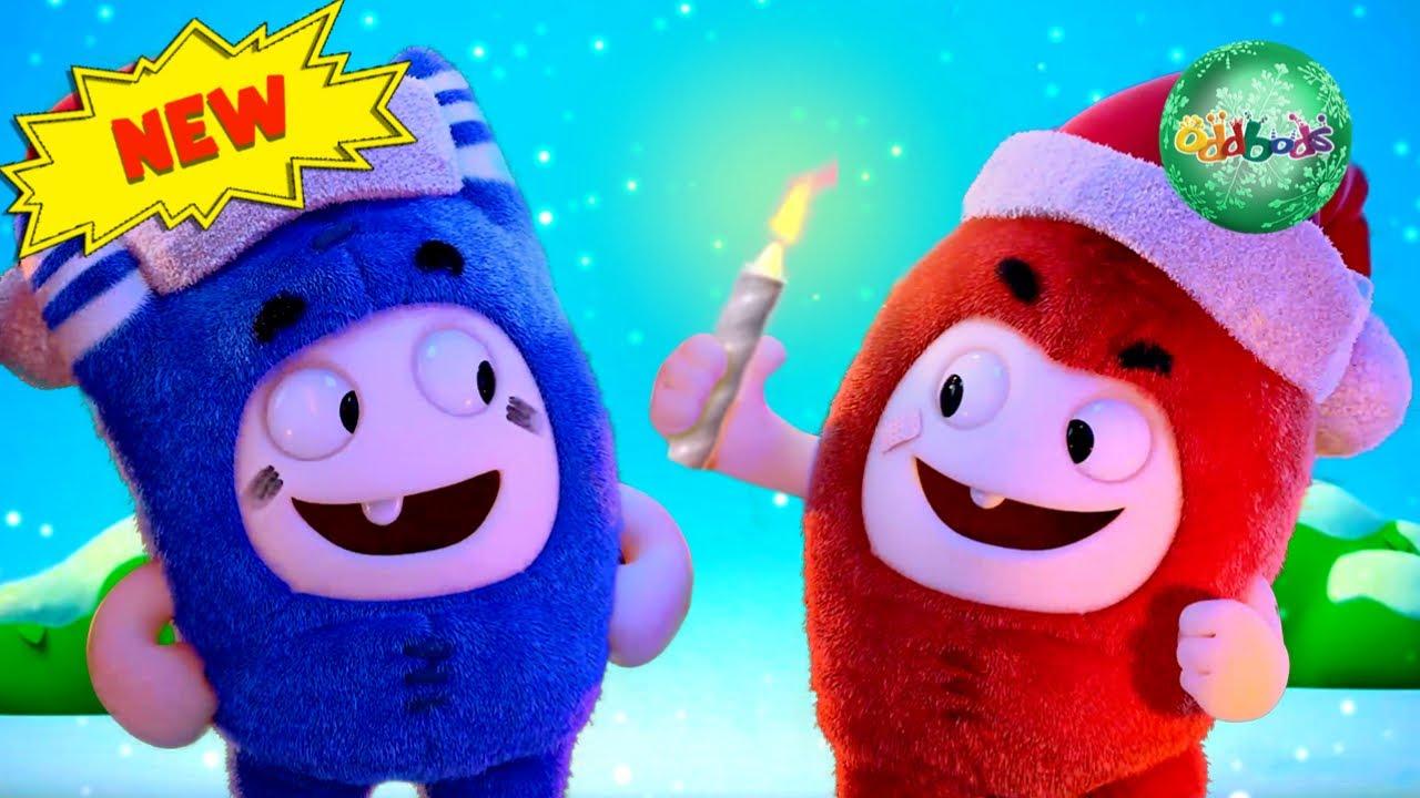 Download Baby ODDBODS Sing Jingle Bells | Funny Christmas Cartoons For Kids