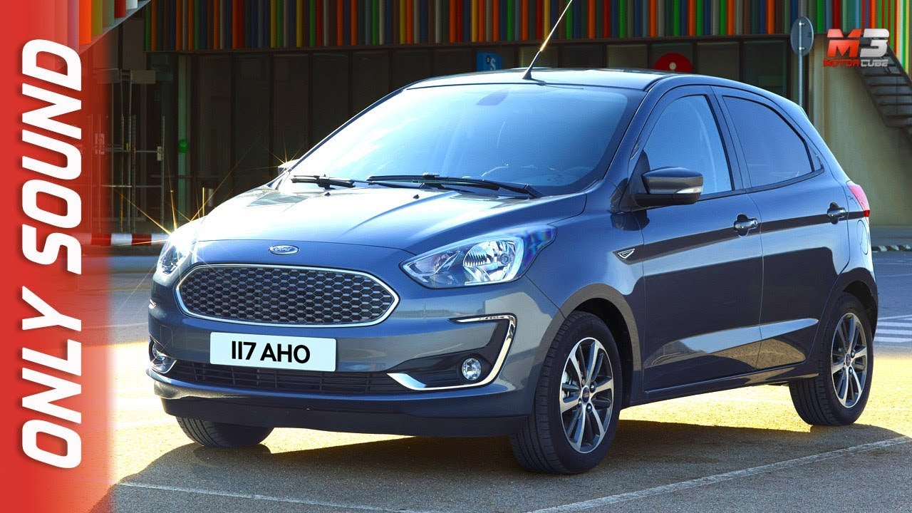 New Ford Ka Plus  First Test Drive Only Sound