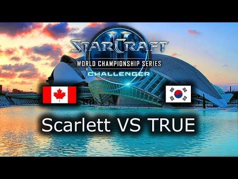 Scarlett VS TRUE - ZvZ - Ro4 - WCS Challenger NA 2018 Season 2 - polski komentarz