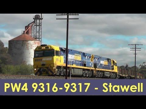 PW4 9316 9317 - Australian Train, Stawell, VIctoria