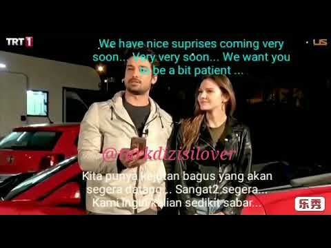 Alp Navruz & Alina Boz live questions and answers session (8 Oct'18, English & Indonesian sub) 😍