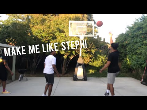 """THE STEPH CURRY LAYUP CHALLENGE..! (FEAT """"Steph Curry Jr"""")"""