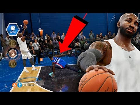 EMBARRASSING ANKLE BREAKER & POSTER DUNKS! NBA Live 18 Live Run Gameplay Ep. 18