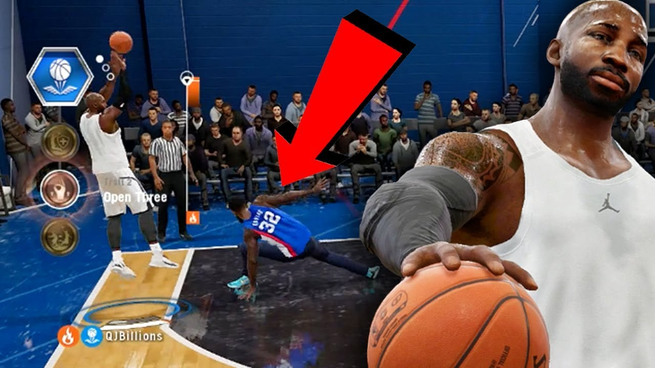 f06ba3b01f3 EMBARRASSING ANKLE BREAKER   POSTER DUNKS! NBA Live 18 Live Run ...