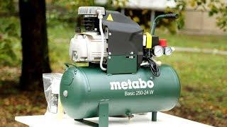 Компрессор metabo basic 250 24 w обзор