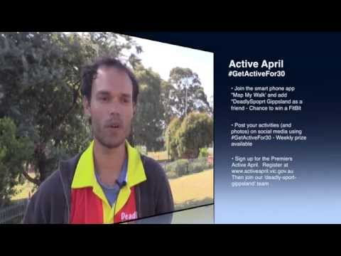 Get Active with Darren  #GetActiveFor30