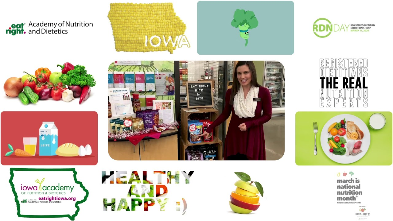 National Nutrition Month 2020 - Erin Good