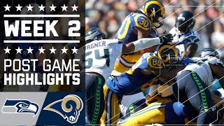 Seahawks vs. Rams | NFL Week 2 Game Highlights