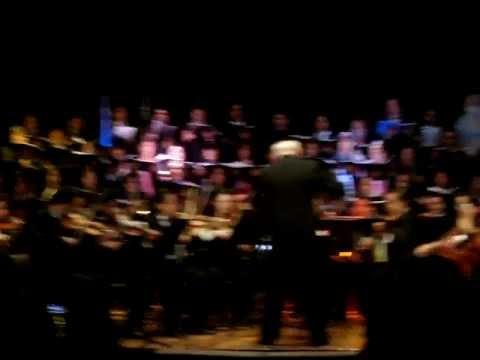 """UASLP – CONCIERTO """"MUSICA DE PELICULA"""" (EL DUELO DE LOS DESTINOS – STAR WARS I)"""