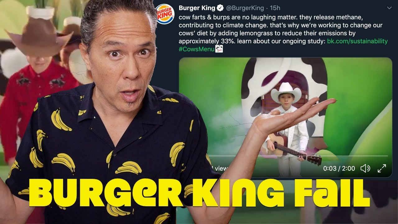 Meat Eaters & Vegans Go Ballistic Over Burger King Tweet & Video